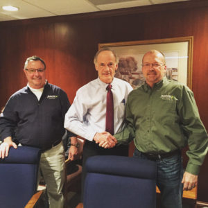Mark Woodruff, Senator Tom Carper of Delaware, Richard Reed