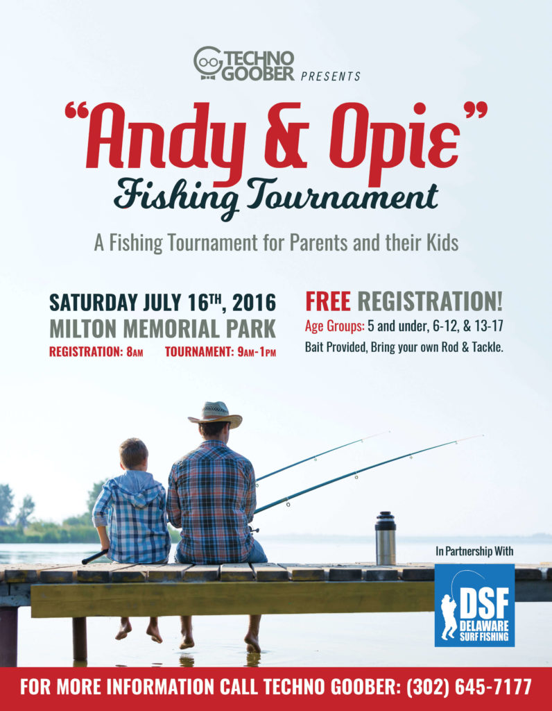 Andie and Opie Fishing Tournament